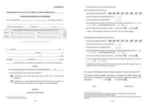 allegato b sismabonus DM 65 attestazione classe di rischio sismico