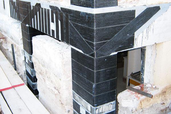 condominio L'Aquila rinforzo pilastri e rinforzo nodi sismabonus