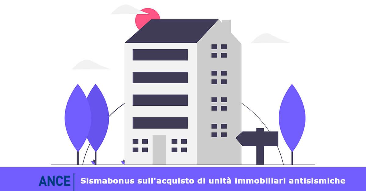 Sismabonus, aggiornata la guida Ance per l'acquisto di immobili antisismici