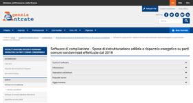 Software comunicazione spese ristrutturazione e risparmio energetico dei condomini