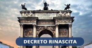 DECRETO RINASCITA: Sconto in fattura al 100% e credito d'imposta al 110%