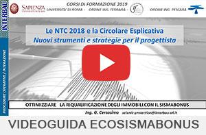Eco-Sismabonus 2019 video guida sisma bonus INTERBAU