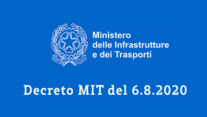 Decreto MIT del 6.8.2020 per le attestazioni necessarie per il sismabonus al 110%