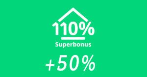 SUPERBONUS 110% + 50% per i territori colpiti dal sisma 2016