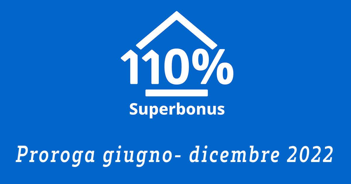 SUPERBONUS 110%: prorogati al giugno 2022 eco e sismabonus 110%