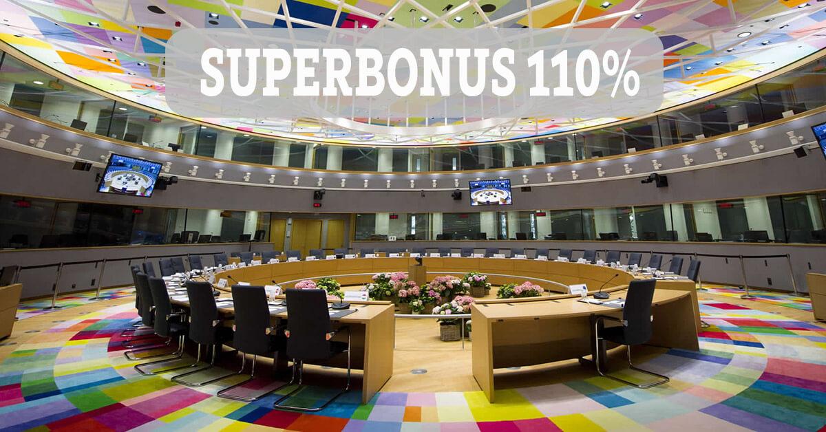 Proroga al 2022 del SUPERBONUS 110%: solo se il Consiglio Europeo approva