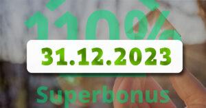 Revisione Recovery Plan: SUPERBONUS 110% prorogato fino al 2023